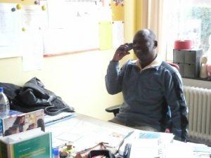Besuch John Semu 2010